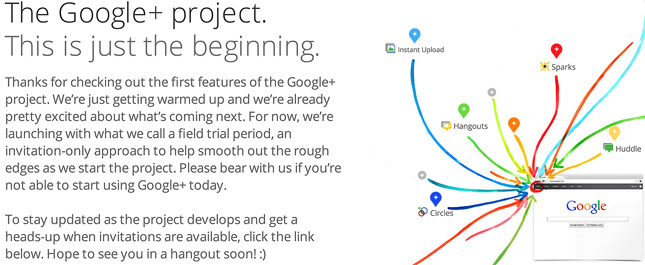 Google-Plus-Project-Overview