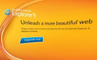 Dear Customer, Please Don't User Internet Explorer