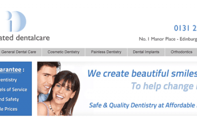 Website / SEO Case Study – Integrated Dentalcare