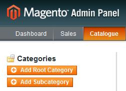 Magento-Categories